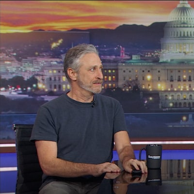 Watch Jon Stewart Return to 'Daily Show' as 'Bernie Bernstein'