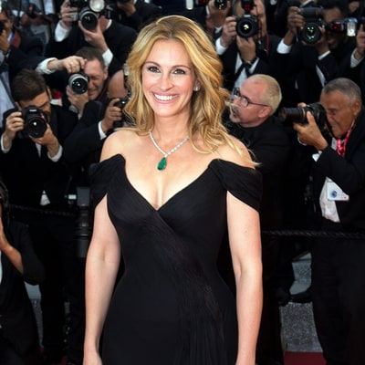Julia Roberts Explains Why She Went Barefoot On the Cannes Red Carpet