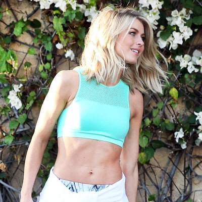 Shop Julianne Hough's Ab-Baring Workout Style