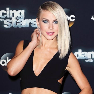 How Julianne Hough Maintains Her Platinum Blonde Permed Hair