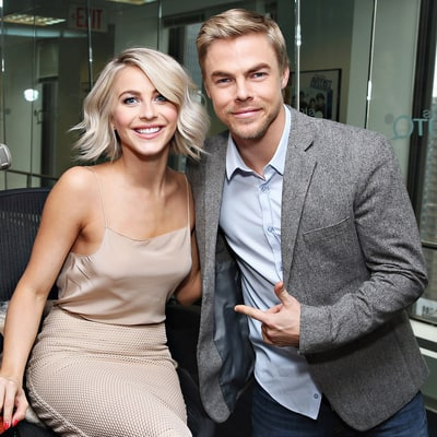 Derek Hough Freaks Over Sister Julianne Hough's 'Grease: Live' Performance: 'Straight-Up Emotional Right Now'