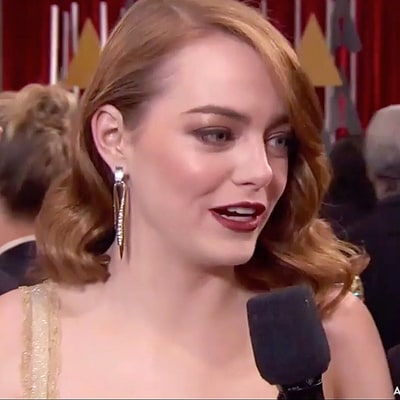 Justin Timberlake Hilariously Crashes Emma Stone's Oscars 2017 Red Carpet Interview