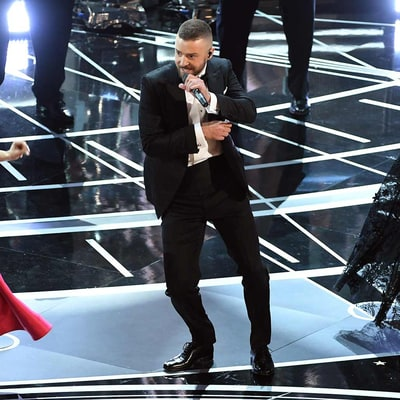 Justin Timberlake Opens the 2017 Oscars, Gets A-Listers Dancing with 'Can't Stop the Feeling' — Watch Now!