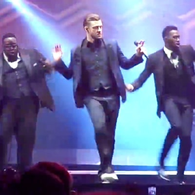 Justin Timberlake Singing and Dancing to Bell Biv DeVoe's 'Poison' Will Make Your Day