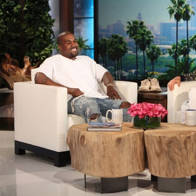 Kanye West Goes on Epic Rant, Reduces Ellen DeGeneres to Silence: Watch