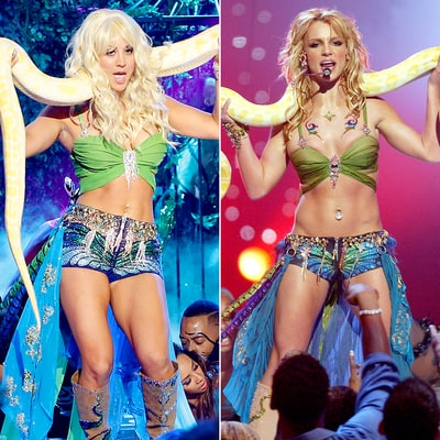 Kaley Cuoco Recreates Britney Spears' 'I'm A Slave 4 U' Dance With Snake on 'Lip Sync Battle'