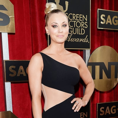 Kaley Cuoco Admits She's 'Overly Obsessed' With Bachelor Ben Higgins on SAG Awards 2016 Red Carpet