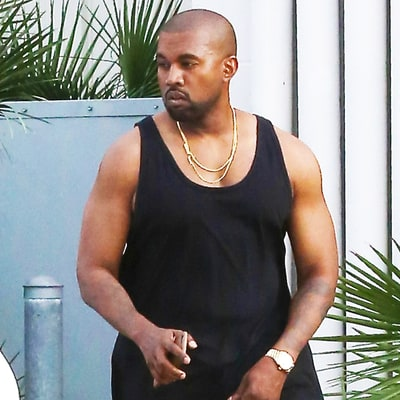 Has Kanye West Been Working Out? Check Out His Buff Biceps on Outing With Kim Kardashian