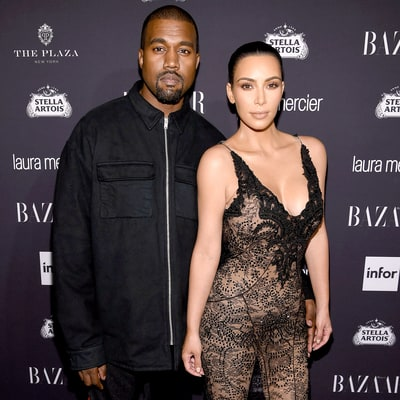 Kim Kardashian Slowly Returns to Public Eye, Supports Kanye West at His Third L.A. Concert
