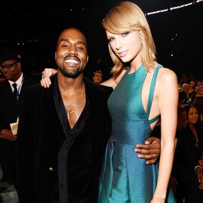 Kanye West Mashes Up Taylor Swift Album Cover With His Own in This T-Shirt Snap