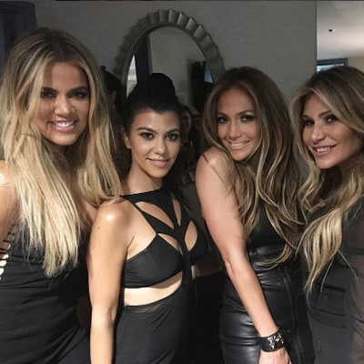 Kourtney, Khloe Kardashian Party on Stage at Billboard Music Awards 2016 Afterparty, Hang With J. Lo: Details