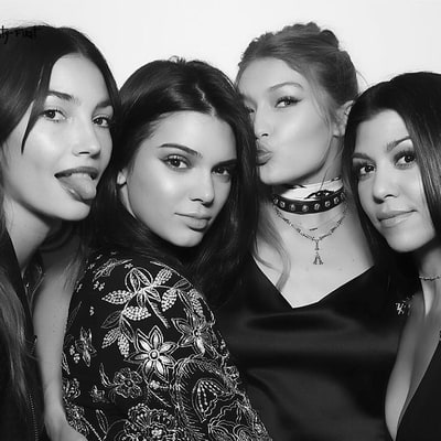 Khloe Kardashian, Kendall Jenner, More Stars Who Basically Went Naked to Gigi Hadid's Birthday Party