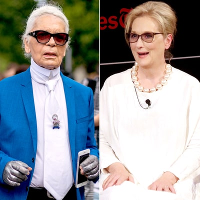 Karl Lagerfeld Claims Meryl Streep Wanted Oscar Dress From Brand That Paid