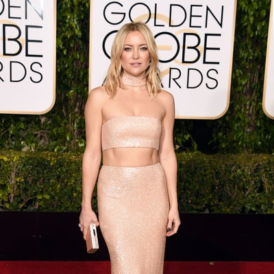 Kate Hudson and Her Toned Abs Hit the Golden Globes 2016 Red Carpet: 6 More Times She Stunned in Cutout Outfits