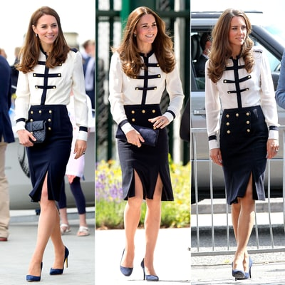Kate Middleton Dresses on Theme for Sailing Charity Event