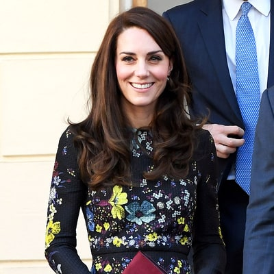 Duchess Kate Has Us Craving Spring in This Floral Dress
