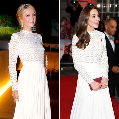 Is Everyone (Including Duchess Kate) Getting Their Style Inspo From Paris Hilton?