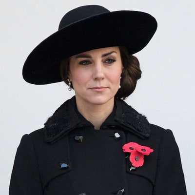 Duchess Kate Looks Elegant in DVF as She Observes Remembrance Sunday With Prince William and the Royal Family