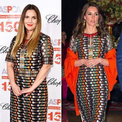 Kate Middleton, Drew Barrymore Wear the Same Dress on the Same Day: Who Wore It Best?