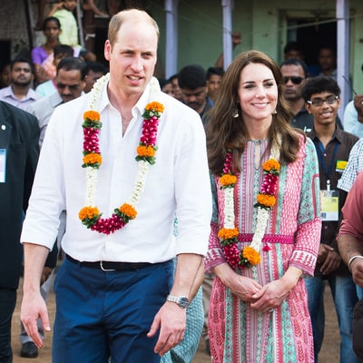 Duchess Kate, Prince William Kick Off Tour of India, Bhutan, by Challenging World's Best Cricketer
