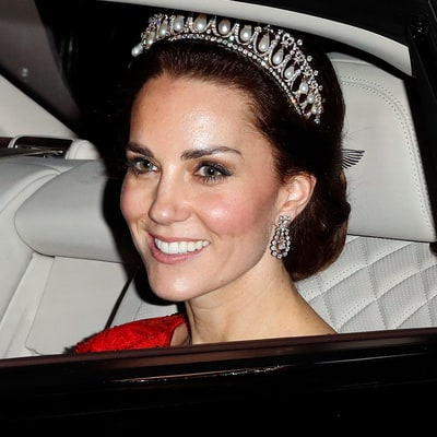 See the Cambridge Lover's Knot Tiara Through the Years, From Queen Mary to Duchess Kate