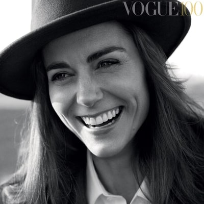 Kate Middleton Drove Herself to 'Vogue' Photo Shoot With Hair in Rollers