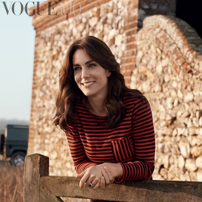 Duchess Kate Stuns on the Cover of British Vogue: Photos