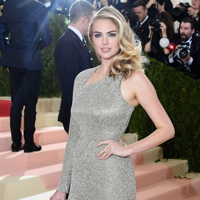 Kate Upton Is Engaged to Justin Verlander, Debuts Engagement Ring at the 2016 Met Gala: Photos