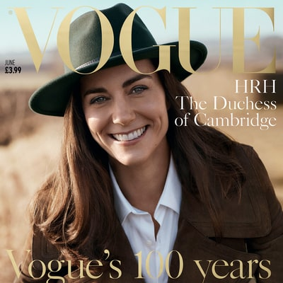 Shop the Exact Styles From Kate Middleton's 'Vogue' Shoot, Including Her Green Fedora