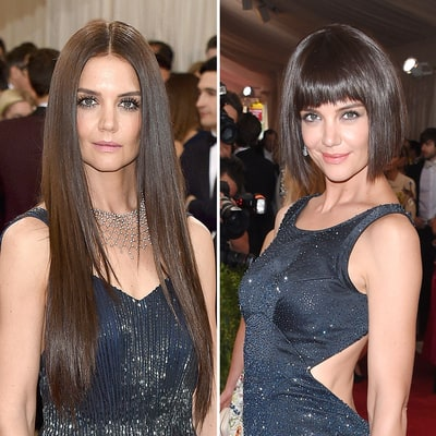 Met Gala 2016: Katie Holmes Rocks Long, '70s-Inspired Hairstyle at the 2016 Met Gala — Steal Her Look