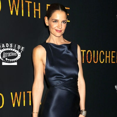Katie Holmes' Silk Gown Looks Even Better From the Back