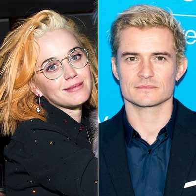 Katy Perry and Orlando Bloom Are Both Blondes Now: Photos