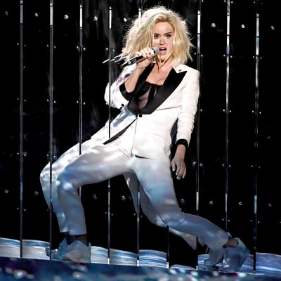 Grammys 2017: Katy Perry Performs New Single 'Chained to the Rhythm' for the First Time