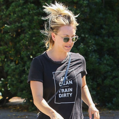 Kaley Cuoco's Quirkiest Statement T-Shirts