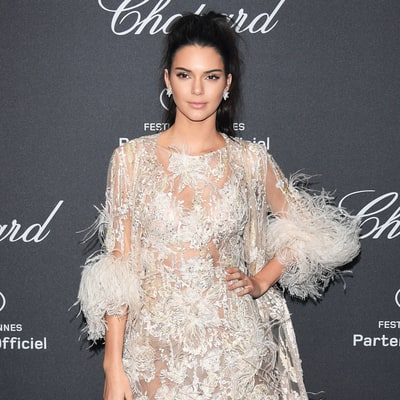 What do you think of Kendall Jenner's feathered Cannes ensemble?
