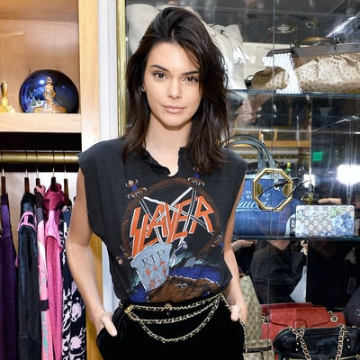 Shop These Vintage-Inspired Rocker T-Shirts, as Seen on Kendall Jenner, Kourtney Kardashian and More