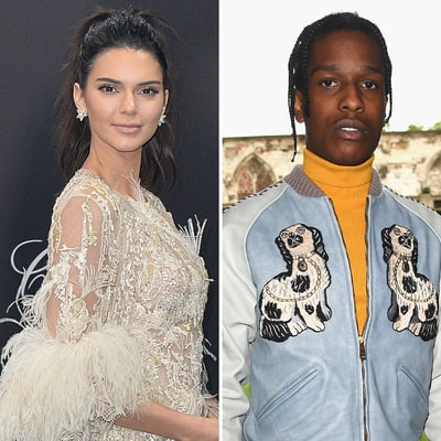 Kendall Jenner and A$AP Rocky Go on Dinner Date in Paris