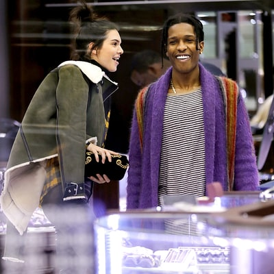 Kendall and Kylie Jenner Double Date With A$AP Rocky and Tyga, Shop in New York City