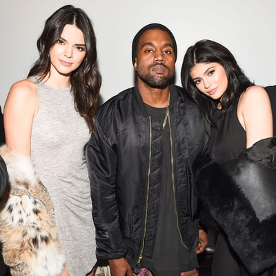Kanye West Supports Kendall and Kylie Jenner at Their NYFW Launch: Pics, Plus His Sweet Words for Them!