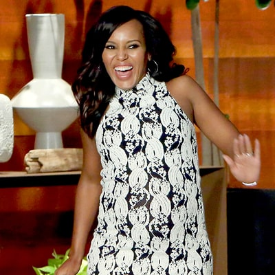 Kerry Washington Jokes About Her Second Pregnancy and Potential Baby Names