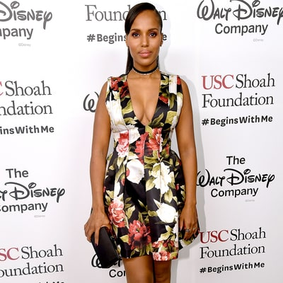 Kerry Washington Makes Post-Baby Debut With Husband Nnamdi Asomugha By Her Side