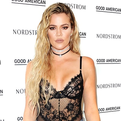 Khloe Kardashian's Wet-Hair Look Is Totally Cocktail Party–Appropriate