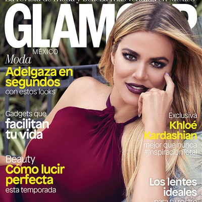 Khloe Kardashian's One Complaint from Her Glamour Cover Shoot
