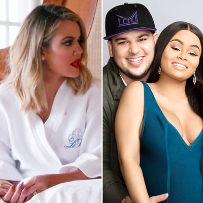 Khloe Kardashian Slams Rob's Behavior After His Fight With Blac Chyna: 'So F--ked Up!'