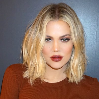Khloe Kardashian Breaks Down Her '90s Beauty Look — Including Brown Lipstick