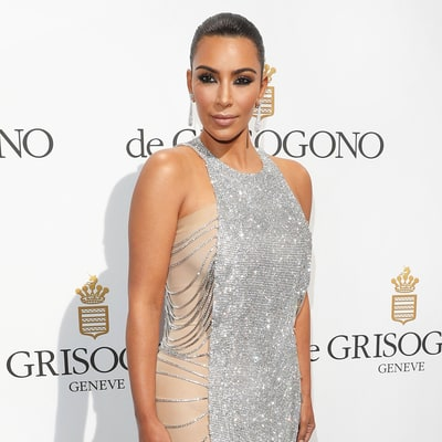 Kim Kardashian Dyed Her Cannes 2016 Dress Using This Kitchen Staple