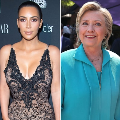 Kim Kardashian Clarifies: I'm Voting for Hillary Clinton Not Donald Trump