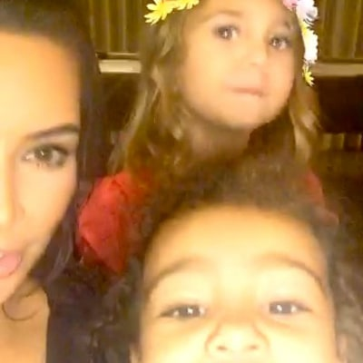 Kim, Khloe and Kourtney Kardashian Share Cute Videos With North and Penelope