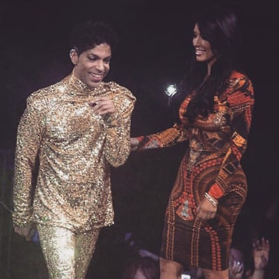 Kim Kardashian Posts Throwback of Awkward Moment Onstage With Prince: 'I Was So Star Struck'