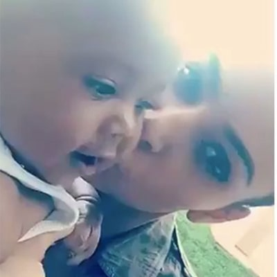 Kim Kardashian Reveals Saint 'Said Dada,' Is a 'Daddy's Boy'